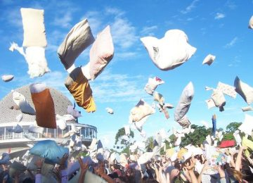 The art of pillow fighting