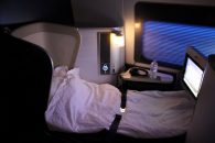 The White Company Luxury Bedding at 30,000 Feet