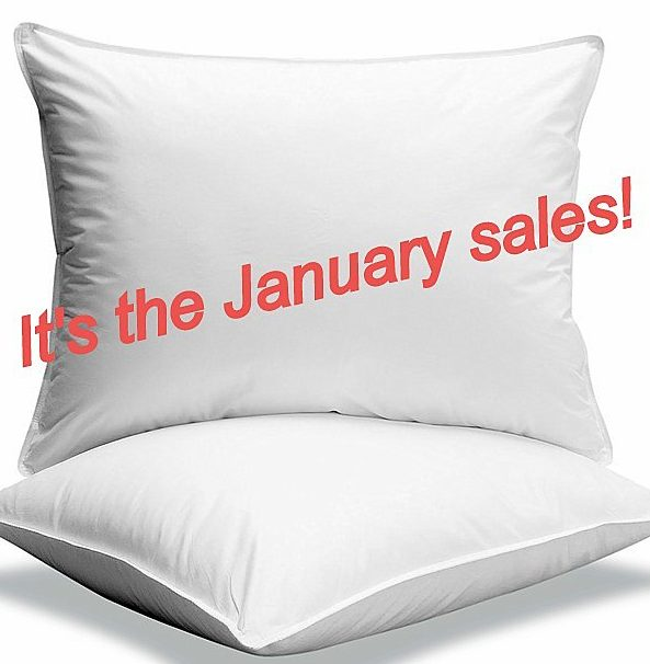 Pillow sales and bargains
