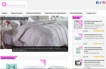 Duvet Advisor - In search of the UK's best duvets