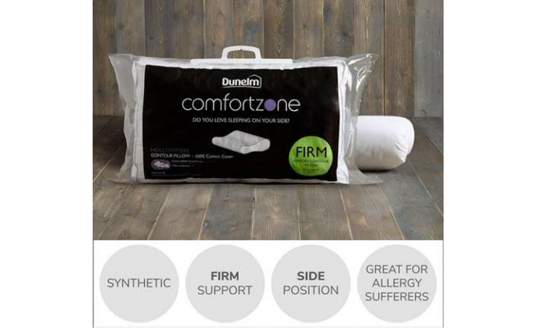Comfortzone Contour pillow review