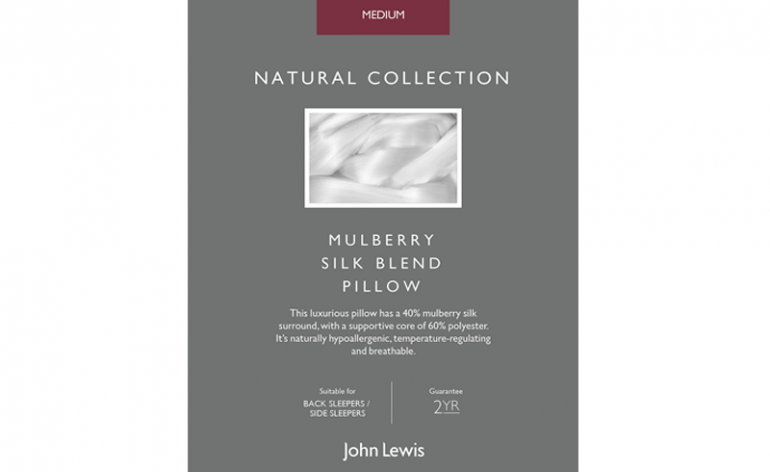 John Lewis Mulberry Silk Blend Pillow review