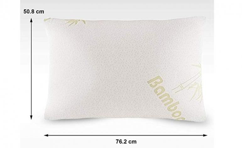 Large-Orthopedic-Memory-Foam-Bamboo-Pillow