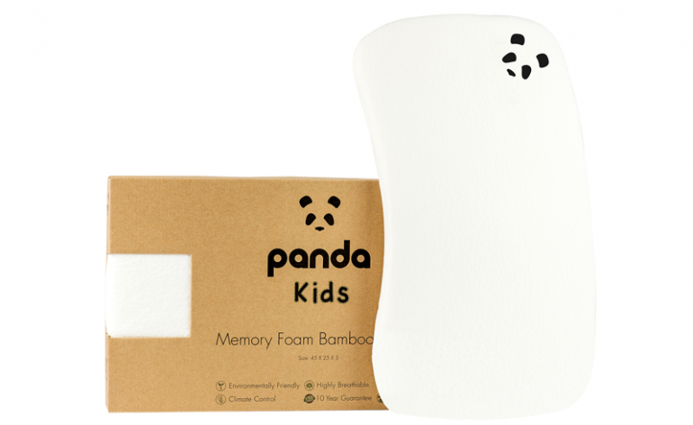 A review of the Panda Toddler Pillow - a kids Bamboo and Memory Foam Pillow