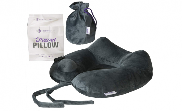 bedtime-bliss-travel-pillow review