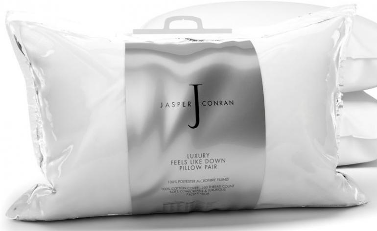 Debenhams Jasper Conran 'Feels like Down' pillow (pair) review