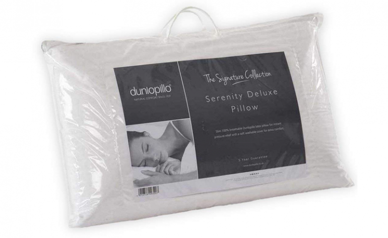 Dunlopillo Serenity Deluxe latex pillow review