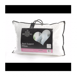 Fine Bedding Company Back support pillow review
