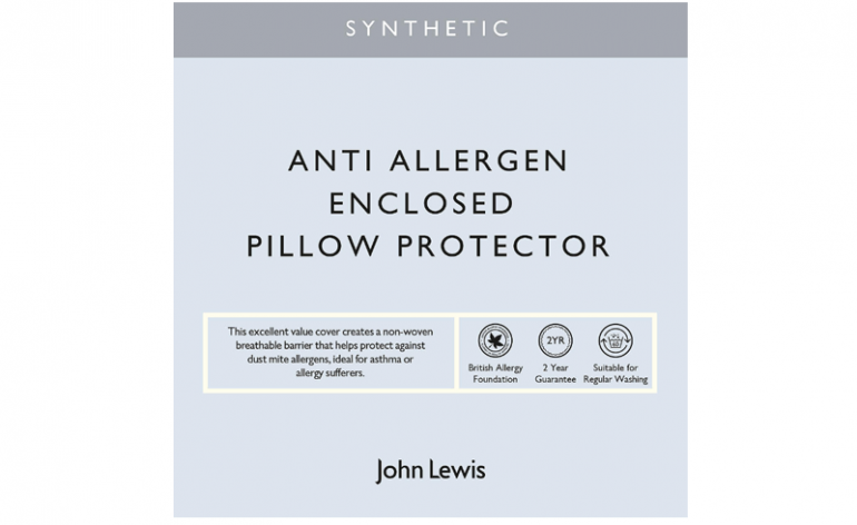 John Lewis Anti Allergy Specialist Pillow Protectors review