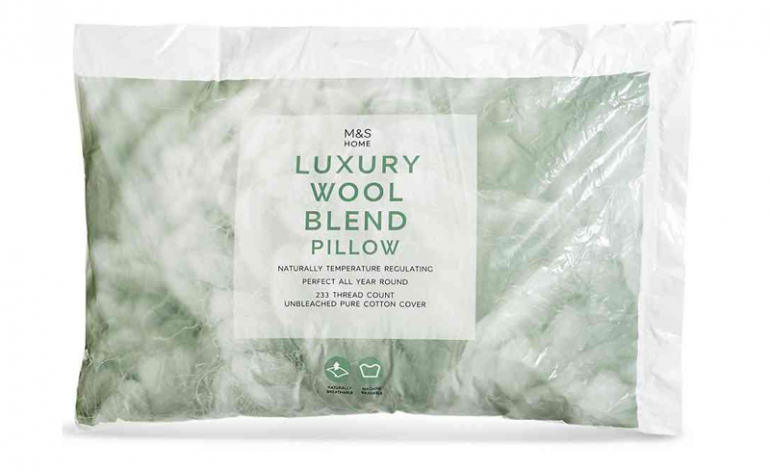 M&S-Wool-Pillow-review