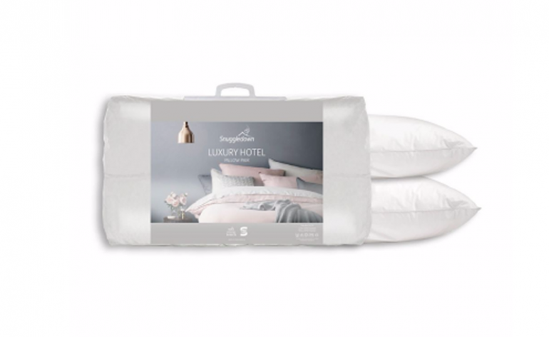 snuggledown luxury hotel pillows review