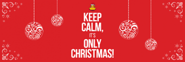 Keep Calm It's only Christmas