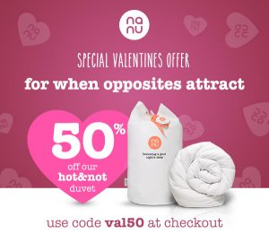 Offer Discount Code Nanu Hot&Not Duvet