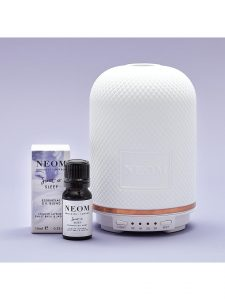 Noem Organics London Wellbeing Pod diffuser and Scent to Sleep