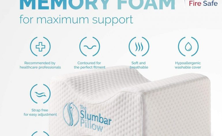 The Slumbar pillow
